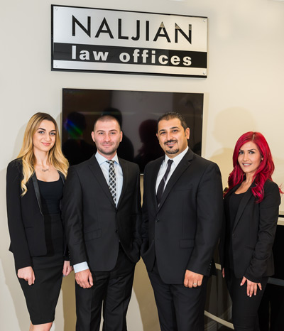 Naljian Law Team